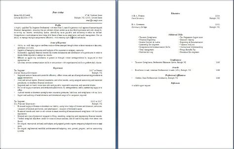 Resume Objective For Quality Inspector by Tax Inspector Resume Free Layout Format