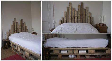 fabriquer tete de lit avec palette decoration de chambre
