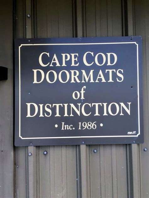 Cape Cod Doormat by Cape Cod Doormats For The Farm The Martha Stewart