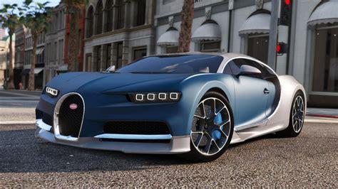 Gta V Bugatti Chiron by Bugatti Chiron Vision Tuning Add On Gta5 Mods