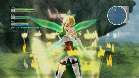 Anime Adventure Online Games Sword Art Online Lost Song Review Sword Art Online