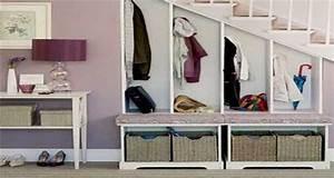 Amenager Sous Escalier : am nager un petit espace sous escalier sympa ~ Voncanada.com Idées de Décoration