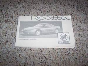 1989 Buick Reatta Coupe Owner Owner U0026 39 S Manual User Guide 3