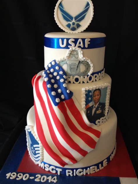 air force retirement cake  creations retirement