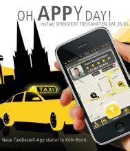 taxi bestellen mit einem knopfdruck koelnde