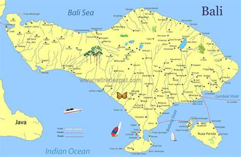 map  bali indonesia indonesia bali