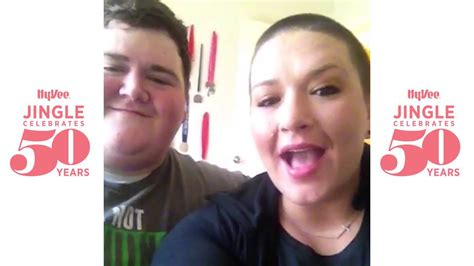 Daniel and Rebecca Wright sing the Hy Vee jingle YouTube