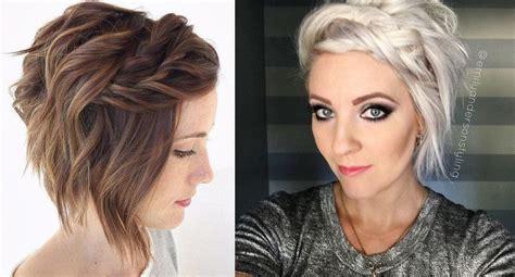 Belles Coiffures Sur Cheveux Courts   Coiffure simple et facile