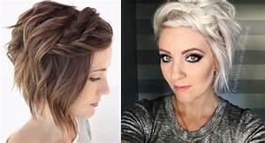 Coiffure Cheveux Court : belles coiffures sur cheveux courts coiffure simple et ~ Melissatoandfro.com Idées de Décoration