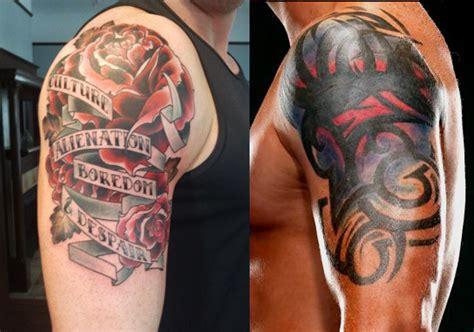 wade barretts tattoos updated wade barrett fanpop