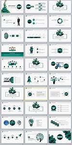 30+ Best business report annual Green white Design ...