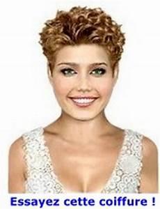 Cheveux Court Bouclé Femme : cheveux courts frises ~ Louise-bijoux.com Idées de Décoration