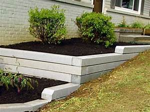 How to Install a Timber Retaining Wall HGTV