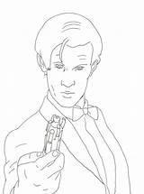 Coloring Doctor Smith Matt Celebrities Fun Dalek Getcoloringpages Books Celebrity sketch template
