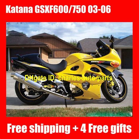 06 Suzuki Katana 600 by Yellow Color For Suzuki Katana Gsx600f Gsx750f Gsx 600f