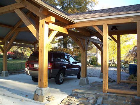 timber frame carports outdoor living timber frame pavilion timber frame