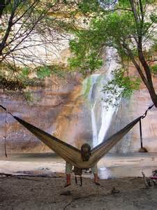 Waterfall Hammock Camping