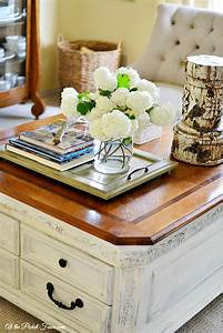 European french country style coffee table living room for White country style coffee table