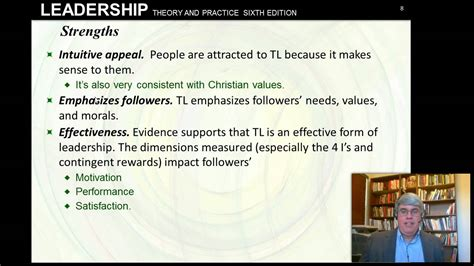 transformational leadership northouse  chapt  youtube