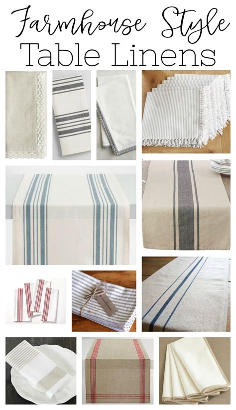 farmhouse style table runners table linens new chargers real talk
