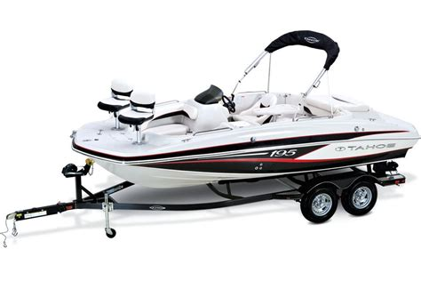 Tahoe 195 Deck Boat Outboard by Tahoe Boats Ski Fish Boats 2016 400 Tf Sterndrive