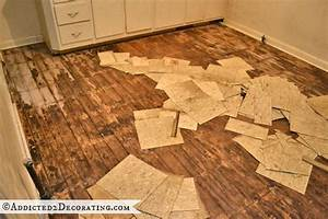 Lets play a game called are these asbestos tiles that i for How to remove plastic floor tiles