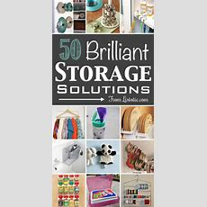 50 Brilliant, Easy & Cheap Storage Ideas (lots Of Tips And