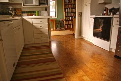 cork floors kitchen the most durable kitchen floors you can modern kitchens 2598