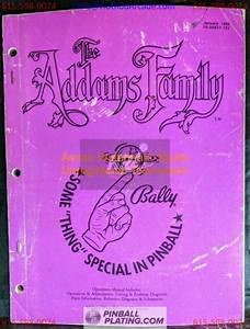 The Addams Family - Bally - Pinball Manual