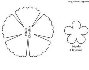 Carnation Paper Flower Template