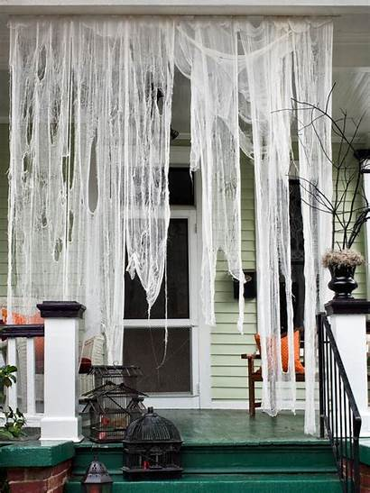 Halloween Porch Decorations Ghosts Decoration Reserved Homebnc