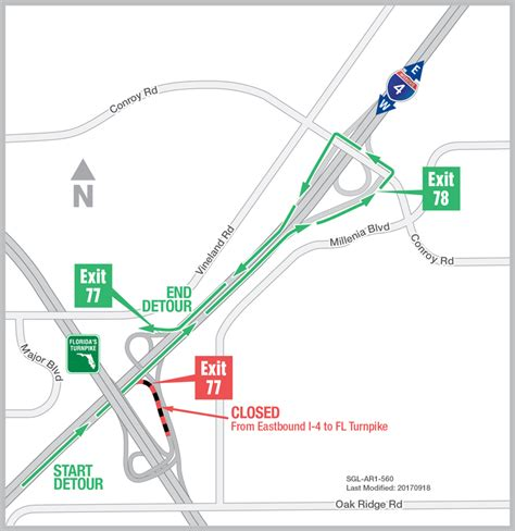 Map Of Florida Turnpike.Road Map Florida Turnpike Exit