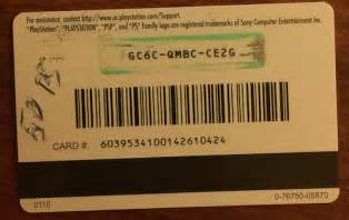 PS4 Gift Card Codes Free