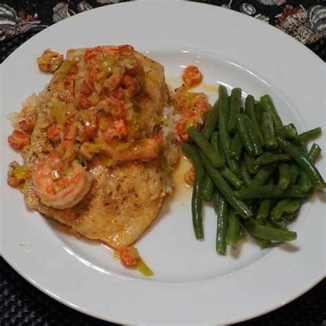 grouper vide sous cajun crawfish sauce recipes seasoned topped shrimp remcooks seasoning recipe