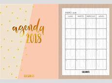 Agenda 2018 las mejores plantillas para imprimir y descargar!