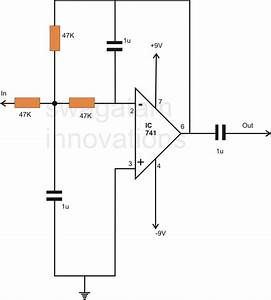 How To Make A Simple Active Low Pass Filter Circuit Using