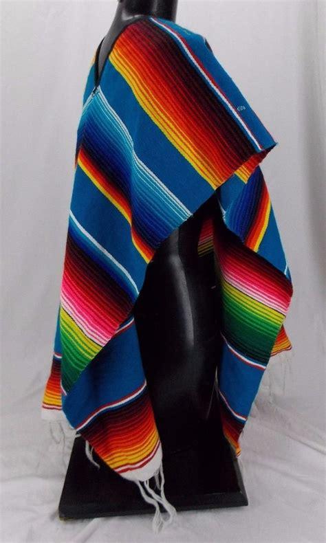 poncho mexicano adulto varios colores unisex  en mercado libre