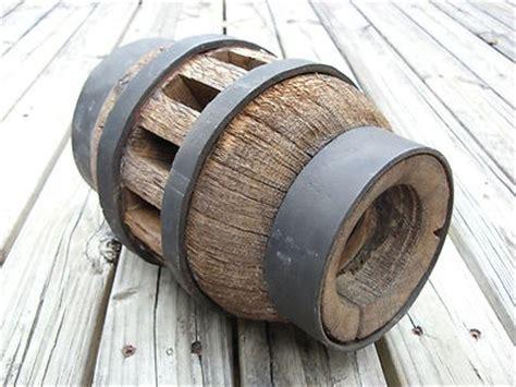 wooden wagon wheel hub woodworking