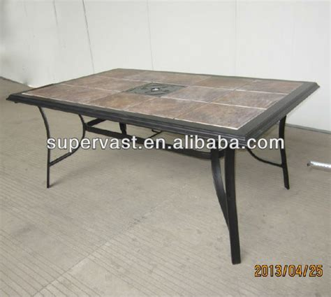 promotional outdoor tile top dining table buy outdoor