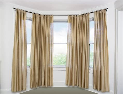 Kitchen Curtains Ideas - curtain rods for bay windows homesfeed