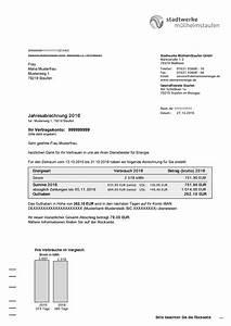 Rwe Rechnung : musterrechnung strom stadtwerke m llheim staufen ~ Themetempest.com Abrechnung
