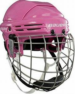 Like New Bauer 2100 Helmet Combo Pink Size Small Hockey