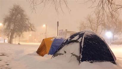Camping Urban Denverite Tents Ban Homeless Denver