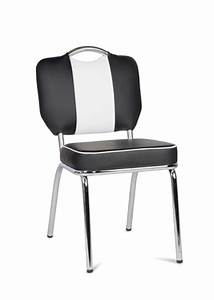 Tisch Mit 4 Stühlen : american diner essgruppe tisch mit 4 st hlen schwarz wei schlafen wohnen ~ Frokenaadalensverden.com Haus und Dekorationen