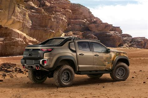 Chevrolet Colorado Zh2 Concept Rear Three Quarter Motor
