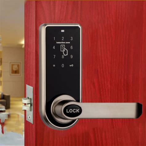 Door Lock by Intelligent Digital Keyless I Way Smart Code Keypad Card