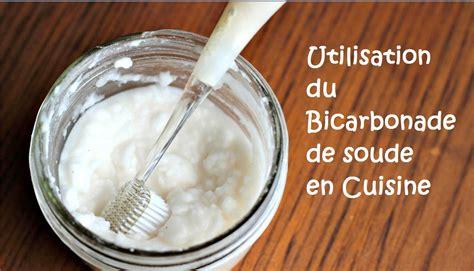 bicarbonate en cuisine utilisation du bicarbonate de soude en cuisine