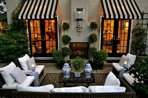 things that inspire design element metal and canvas awnings