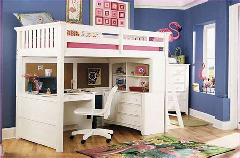 lit mezzanine avec bureau int r bunk bed with desk for adults