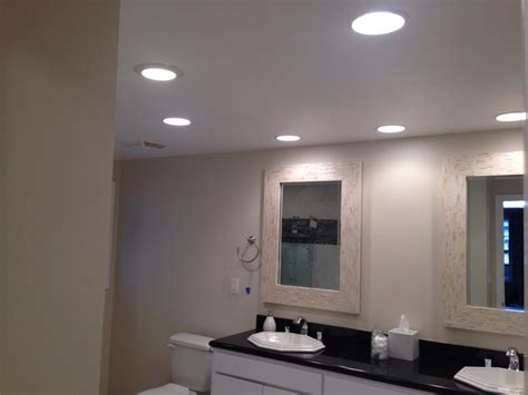 Lights For Bathrooms by Bathroom Led Recessed Lighting